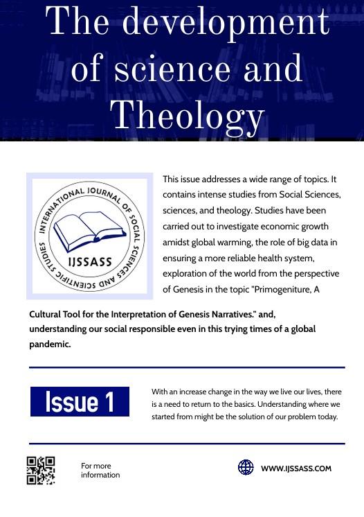 IJSSASS Volume 1, ISSUE 1