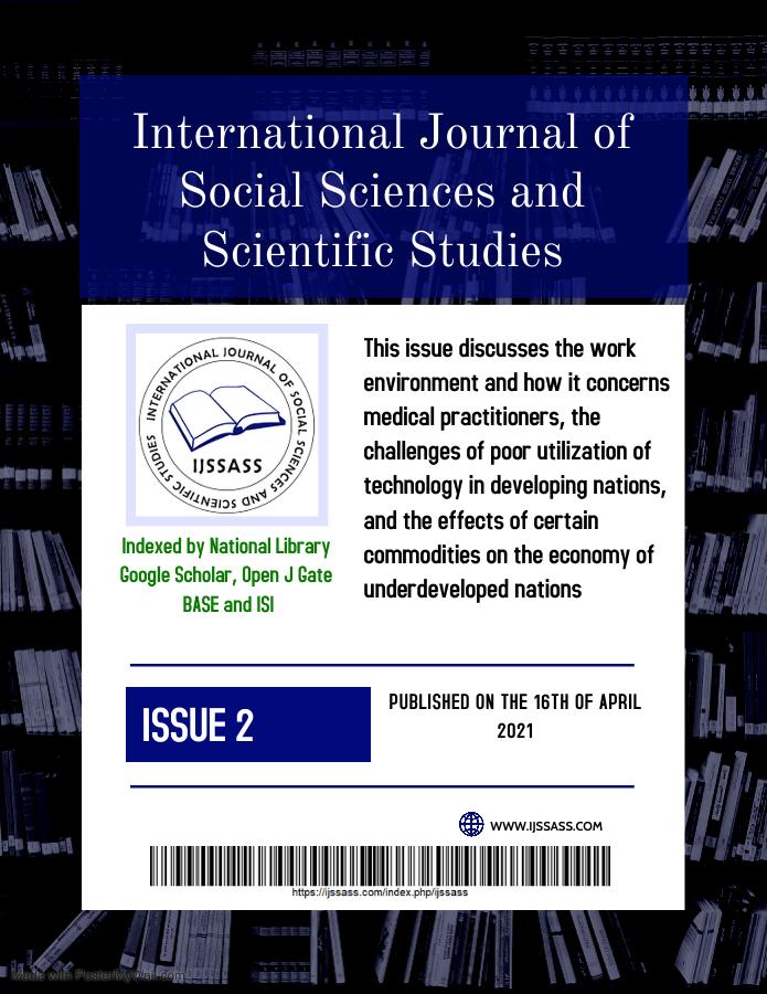 IJSSASS Volume 1, ISSUE 2