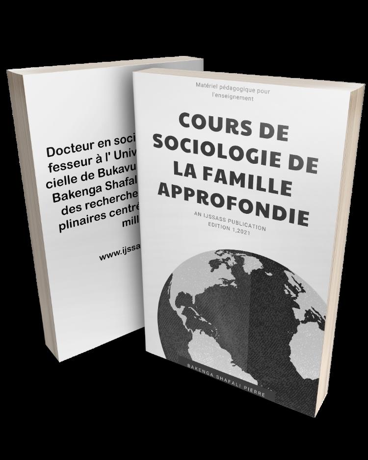COURS DE SOCIOLOGIE DE LA FAMILLE APPROFONDIE (French Edition)